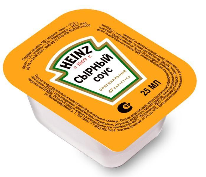 Соус сырный «Heinz»