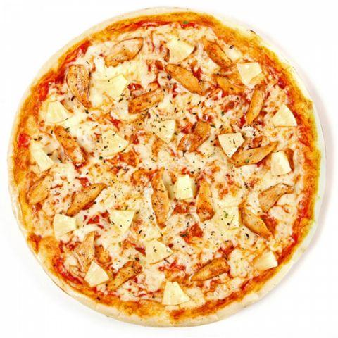 Пицца «Гавайская с креветками»