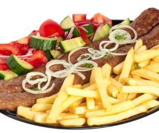 Люля-кебаб комплекс «Плюс» из говядины
